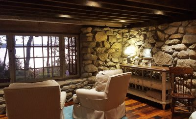 Sweetheart Stone Cottage Vacation Rental in Rochester MA